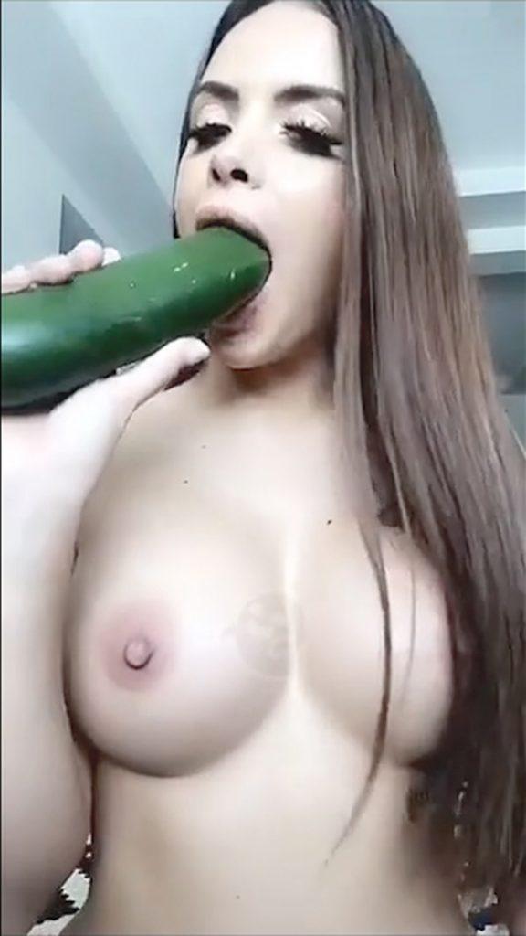 Allison Parker Leaked Pics, Cucumber Masturbation Photos
