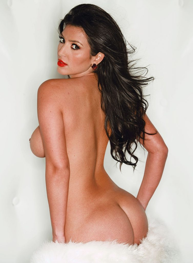 Kim Kardashian Sex Photos for Playboy