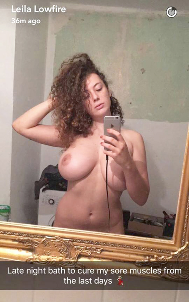 Leila Lowfire Leaked Nude Photos and Boobs Pics