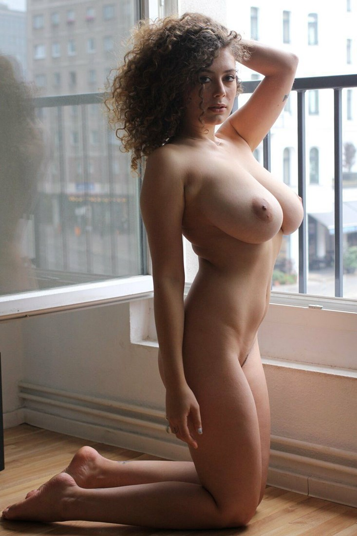 Curly girl hairy pic
