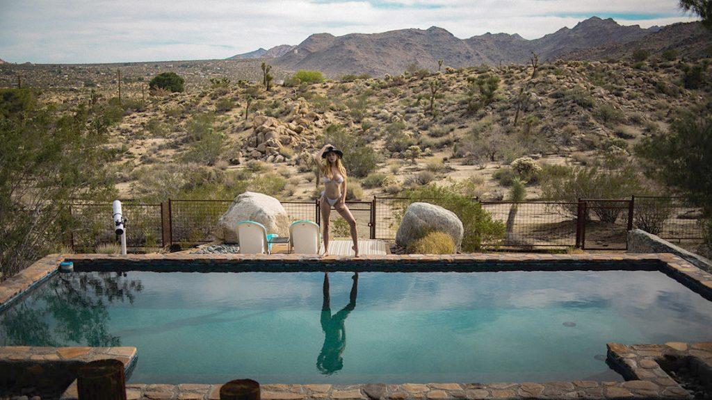 Skye Blue Nude Photoshoot