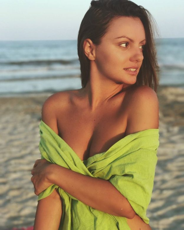 Alexandra Stan Photos Leaked, At the Beach