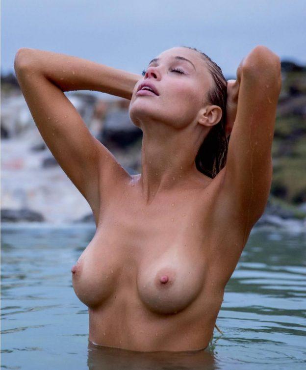 Allie Leggett Nude Photos, Huge Breasts