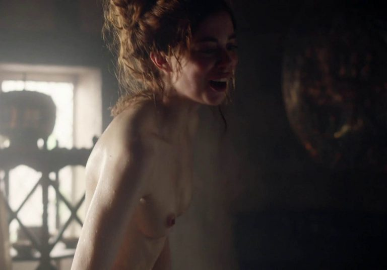 Charlotte Hope Nude In a TV Show