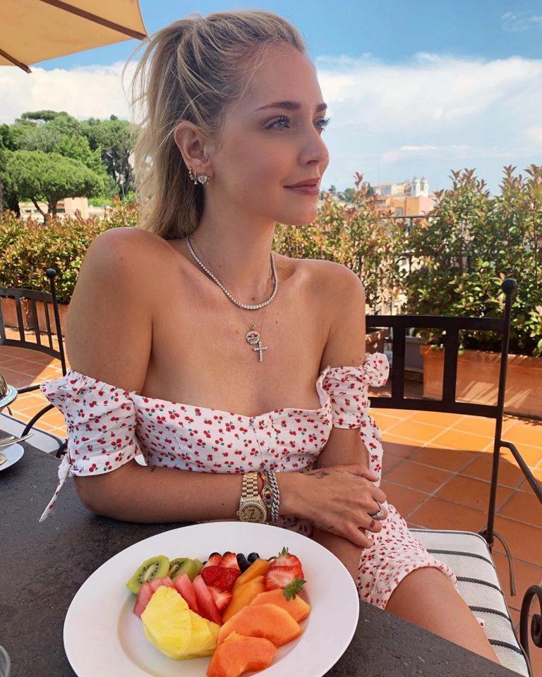 Chiara Ferragni Nude With Boyfriend