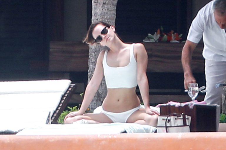 Emma Watson Sexy Vacation Photos
