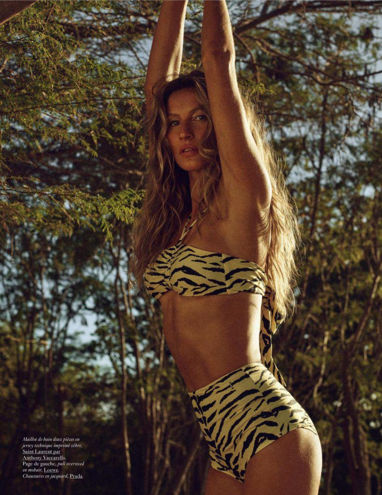 Gisele Bundchen Sexy Vogue Photoshoot