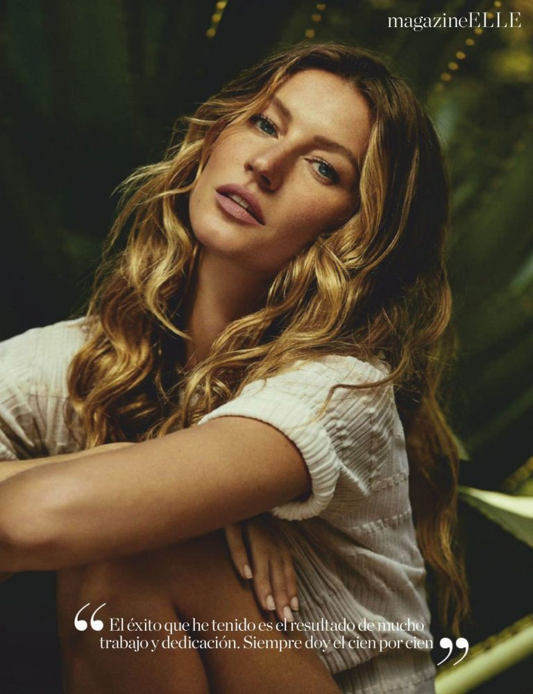 Gisele Bundchen Sexy Elle Photos