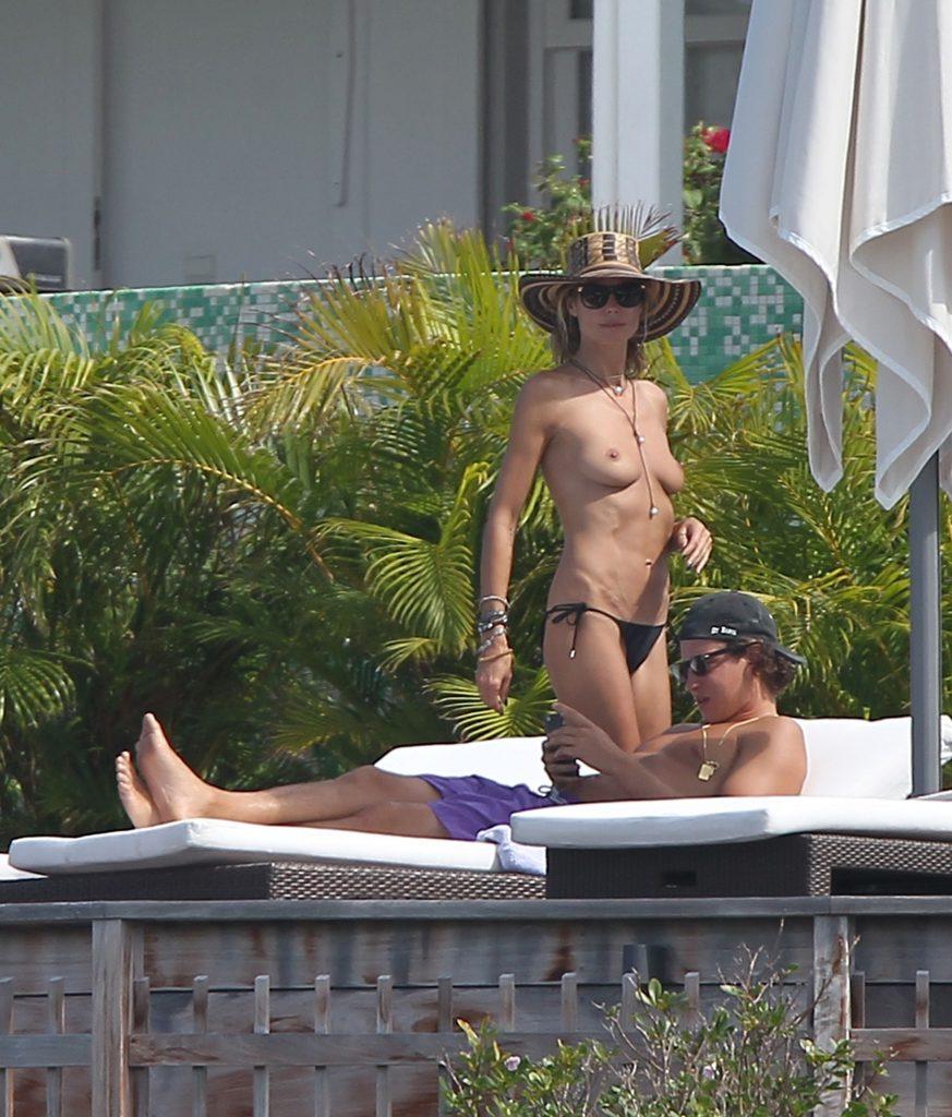 Heidi Klum Topless Pics