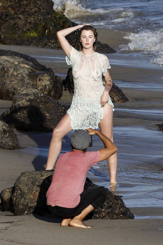 Ireland Baldwin Topless Photos