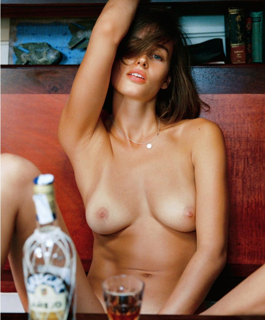 Johanne Landbo Nude Sailing Photoshoot, Big Boobs