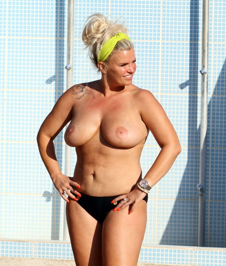 Kerry Katona Topless Pics, Big Breasts