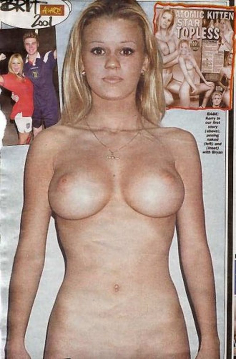 Kerry Katona Nude Photos, Big Tits