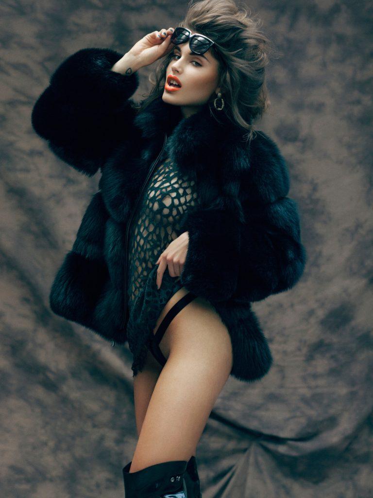 Maja Krag Nude and Sexy Photoshoot