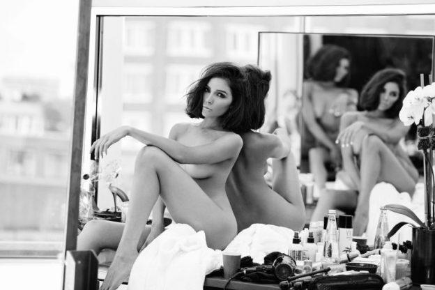 Olivia Culpo Sexy Black and White Pics