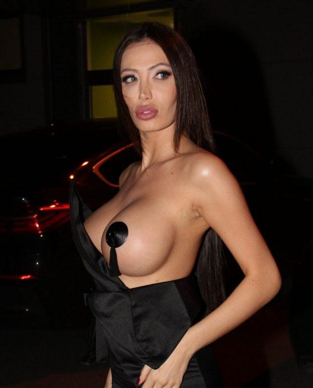 Soraja Vucelic Topless Photos, Huge Boobs