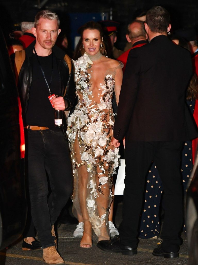 Amanda Holden Seethrough Dress Pictures