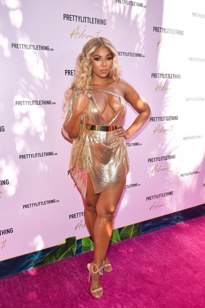 Ashanti Sexy Photos, Tits and Legs