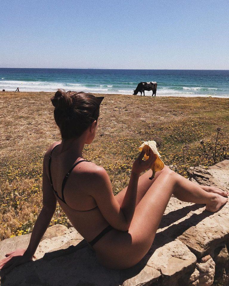 Chiara Bianchino Nude In The Pool