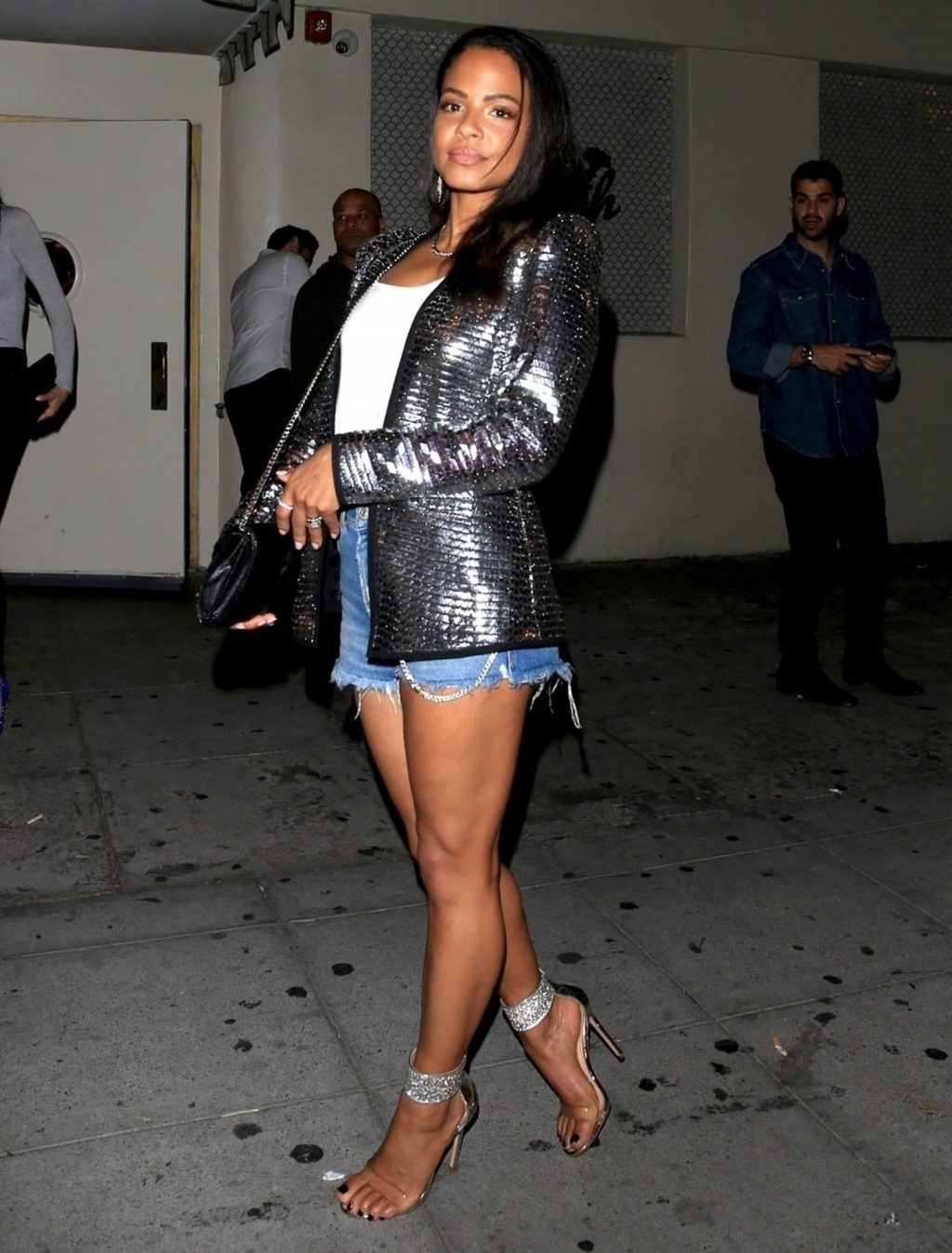 Christina Milian Sexy Pictures, Long Legs