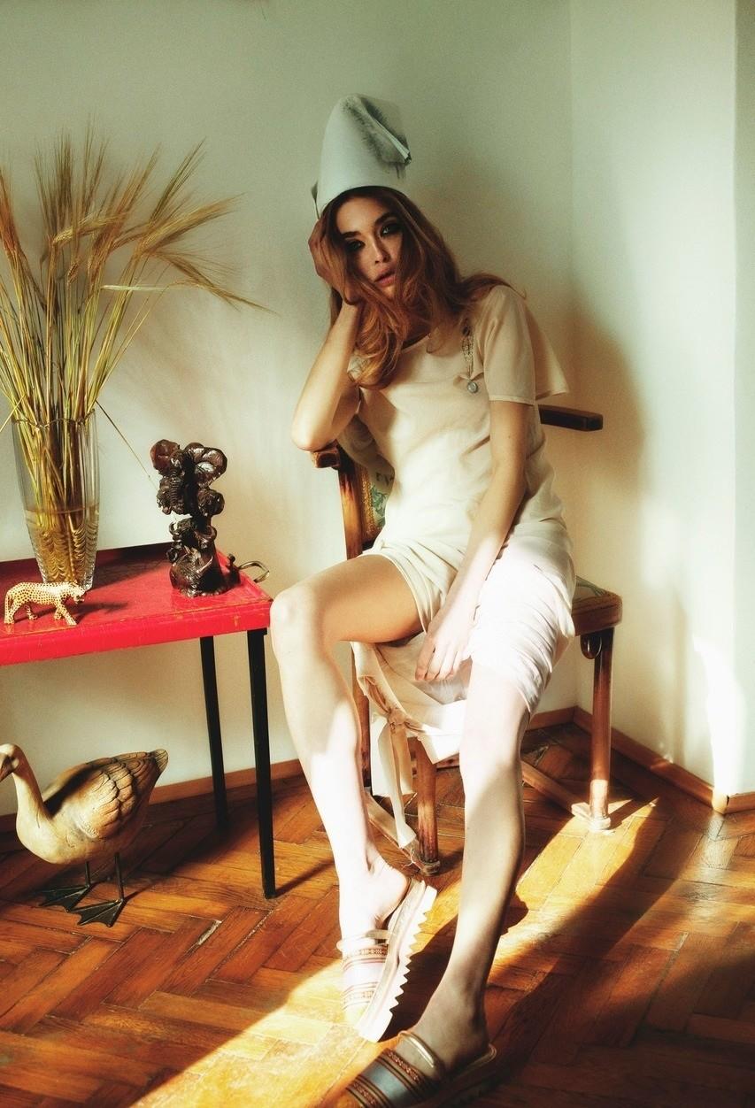 Georgiana Saraev Nude Black Nad White Pics
