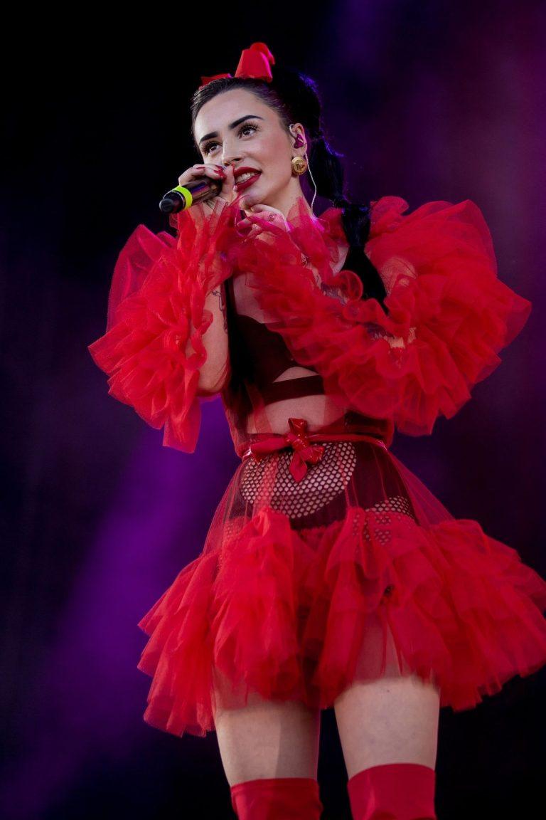 ILIRA Sexy Photos, Red Dress