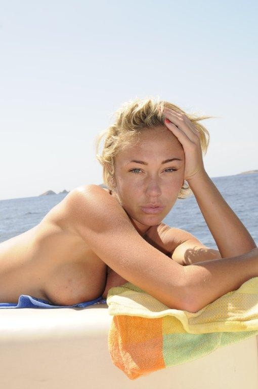 Jenny Frost Nude Photos On A Yacht