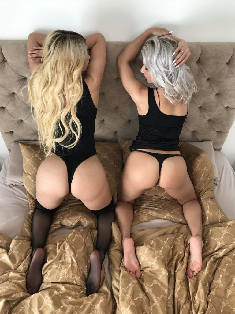 Micaela Schäfer and Aby Action Nude Pics