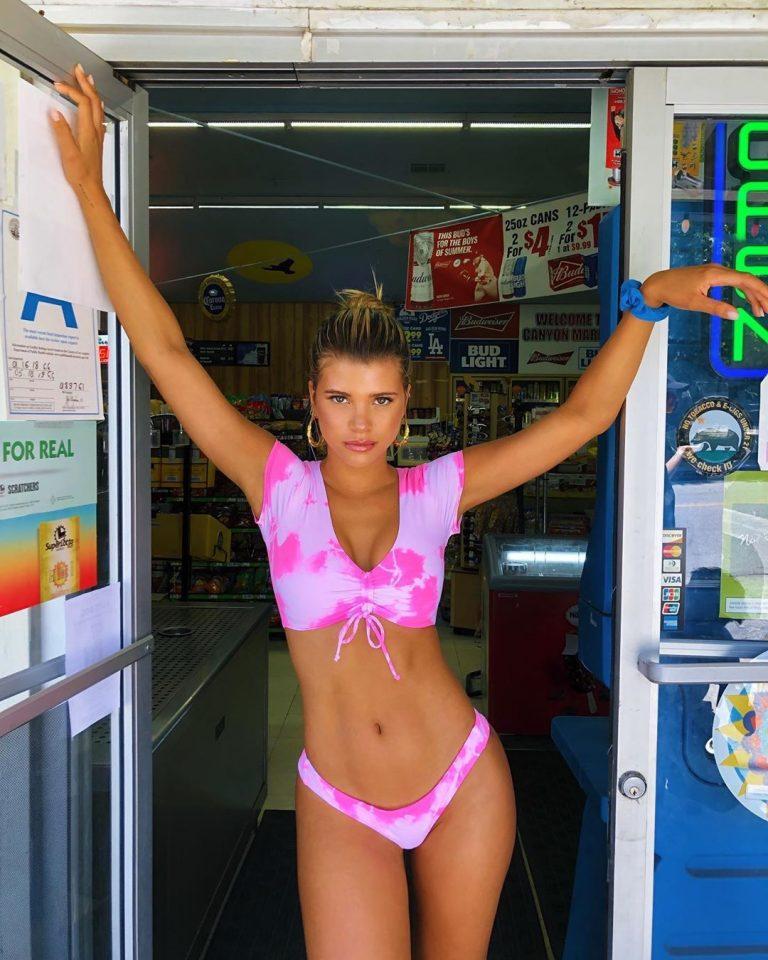 Sofia Richie Sexy Bikini Pictures