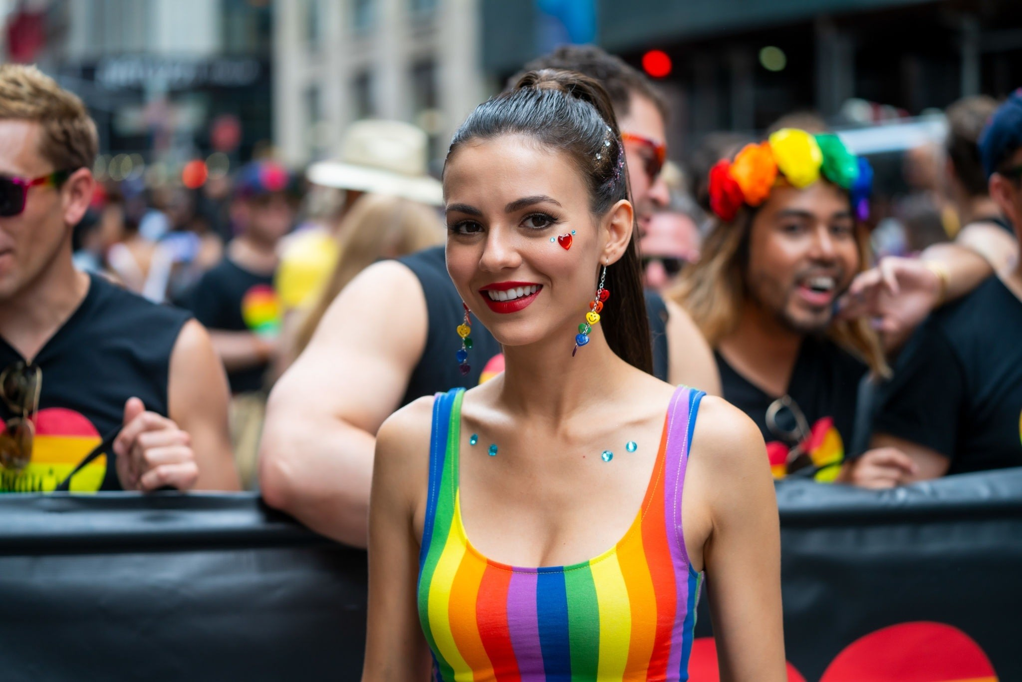 Victoria Justice Hot Pictures at Pride Day