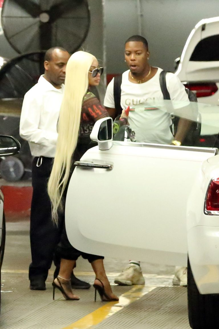 Blac Chyna Sexy Pictures, Really Thick Body
