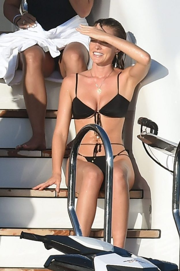 Georgia Gibbs Sexy Photos on a Yacht
