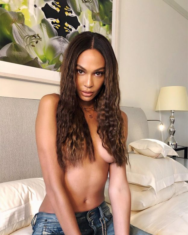 Joan Smalls Topless Leaked Hot Picture