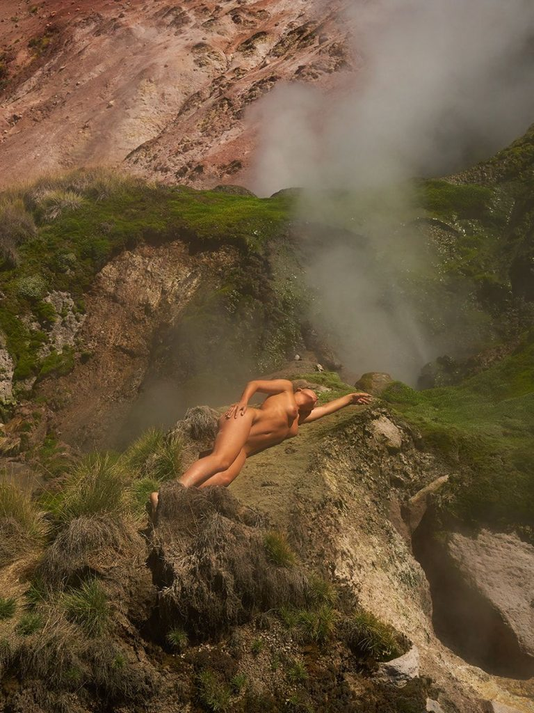 Marisa Papen Nude Photos In The Nature