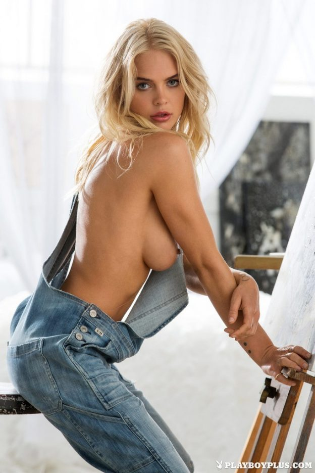 Rachel Harris Nude Denim Pictures, Big Tits