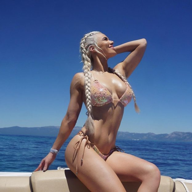 Lana WWE Sexy Bikini Pictures, Athletic Body