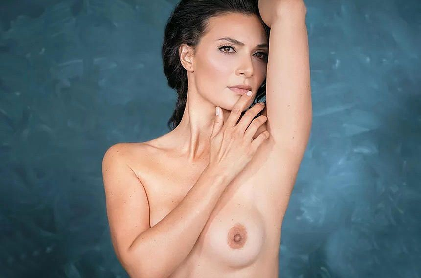 Ana Maria Orozco Nude Pictures, Black and White