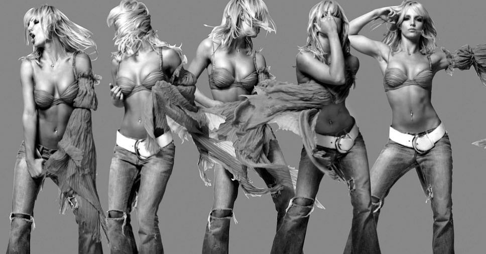 Britney Spears Sexy Photos, Steamy Workout