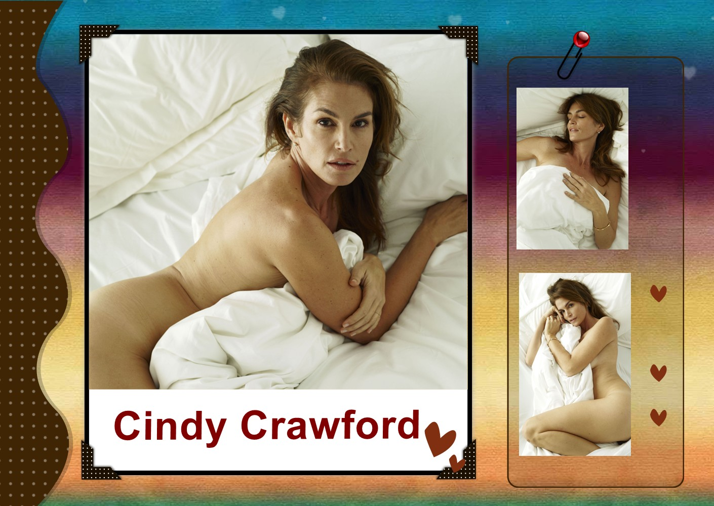Cindy Crawford Nude Photos, Big Ass