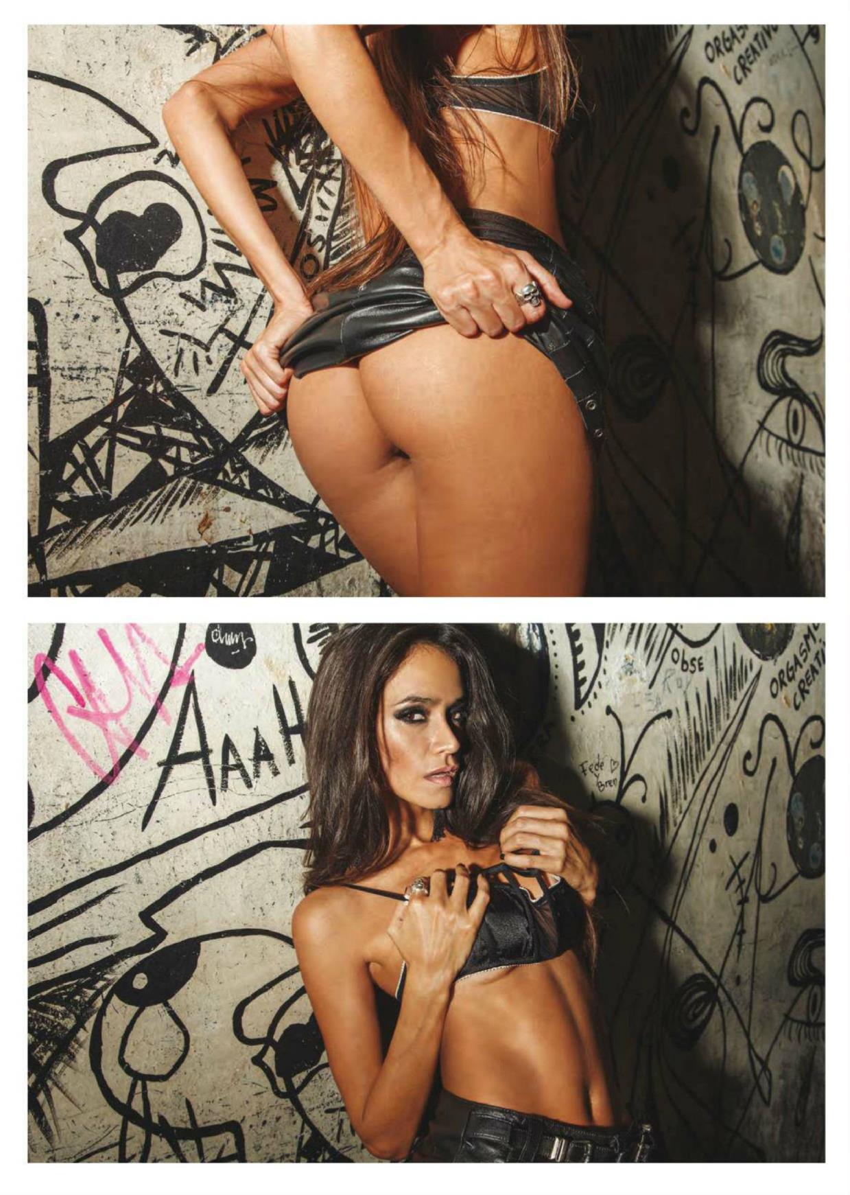 Evangelina Carrozzo Nude Photoshoot, Big Ass