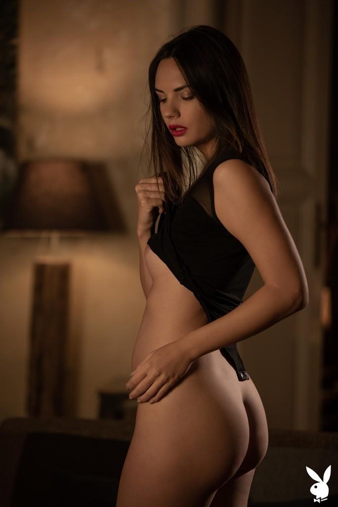 Flora Garai Playboy Photoshoot, Nude