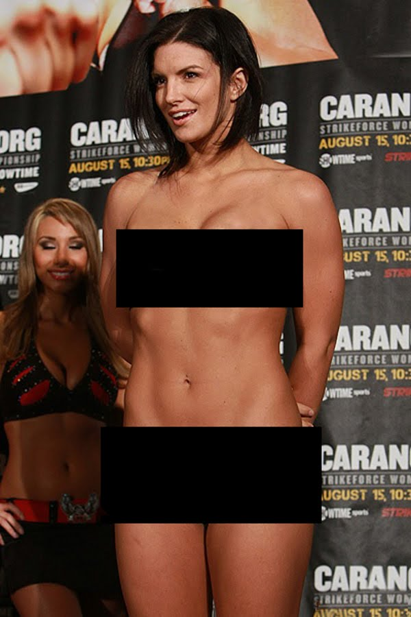 Gina Carano Sexy Pictures, Great Cleavage