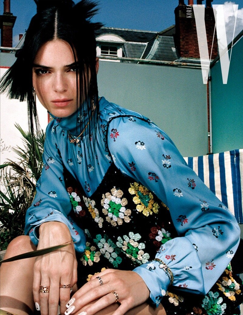Kendall Jenner Sexy Pics, New Photoshoot