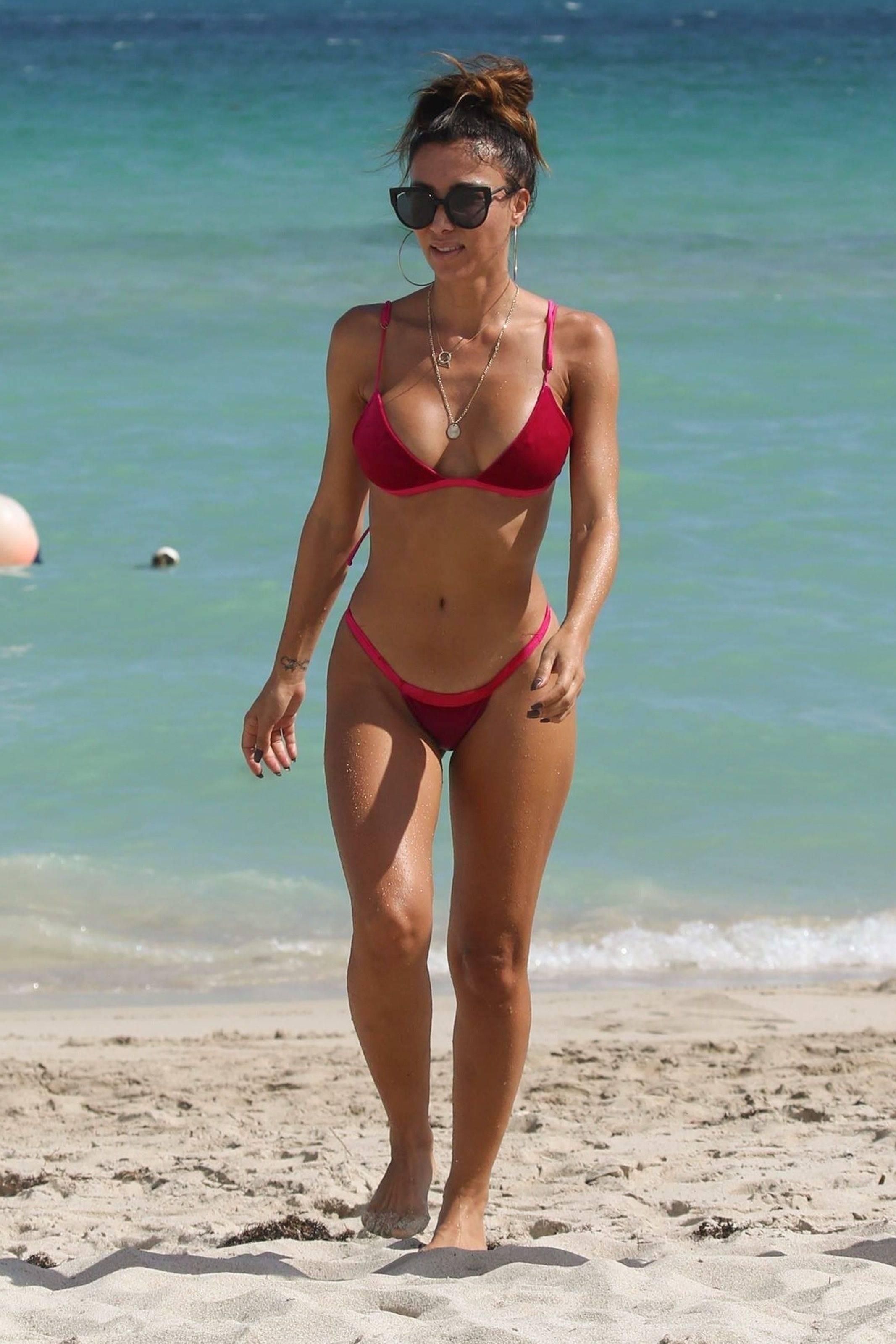 Metisha Schaefer Bikini Pictures, Big Tits