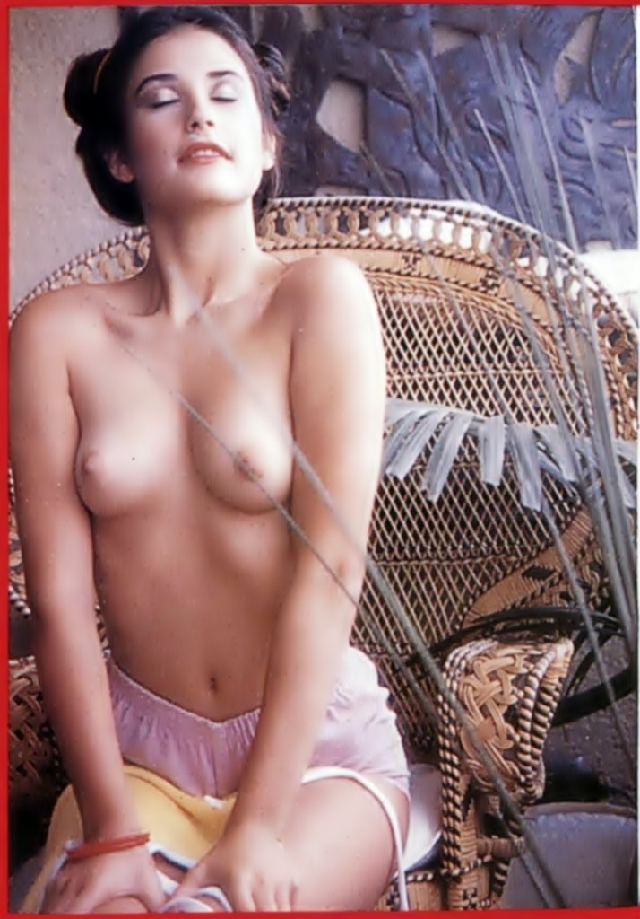 Demi Moore Nude Vintage Pictures, Amazing Tits