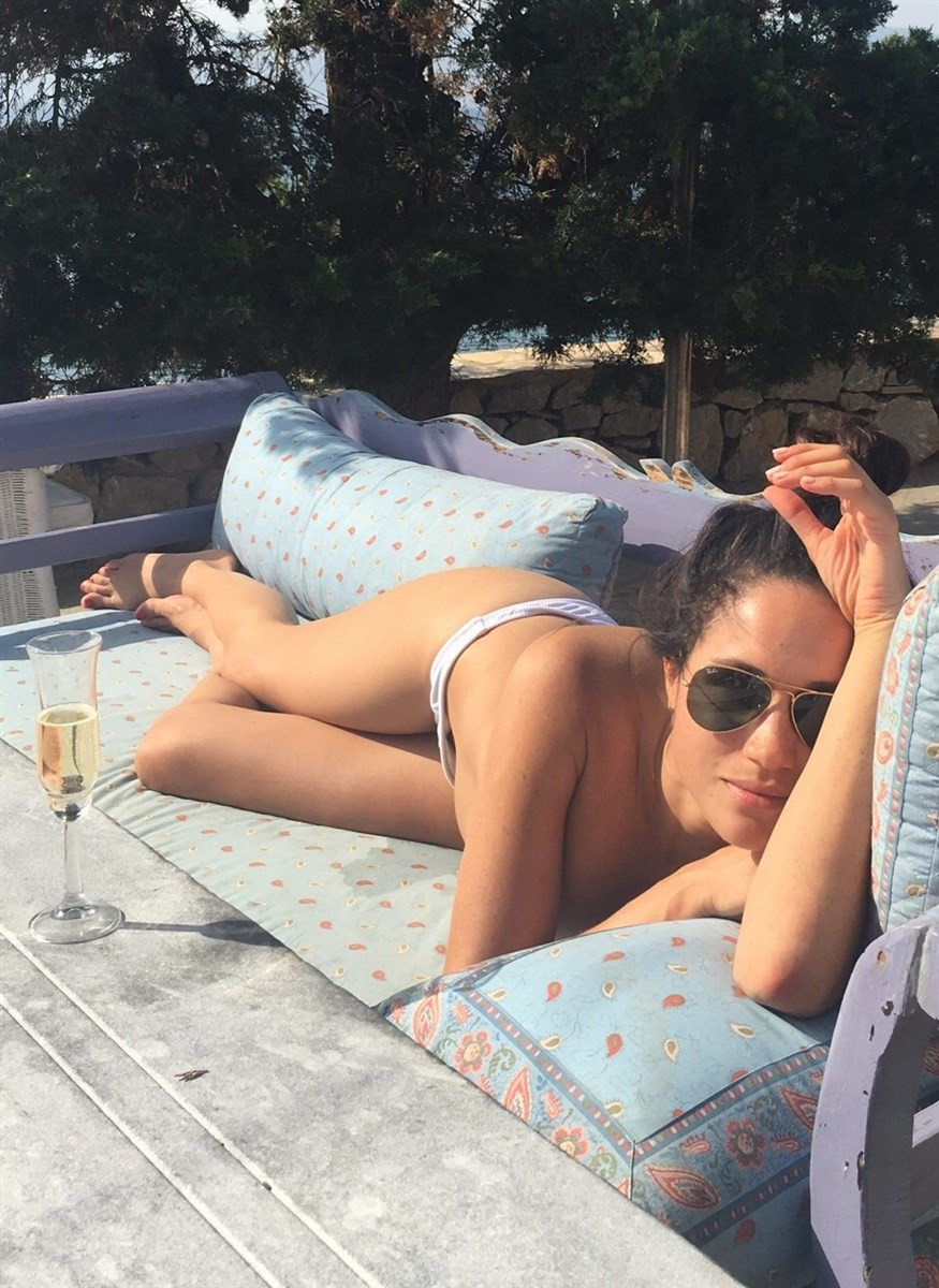 Meghan Markle Sexy Leaked Pictures, Tits and Nips