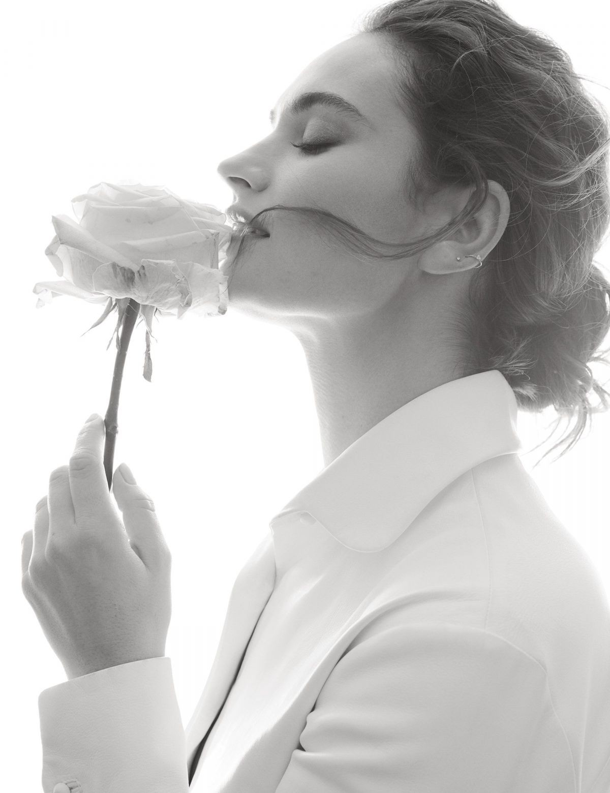 Lily James Gorgeous Photoshoot, Sensual