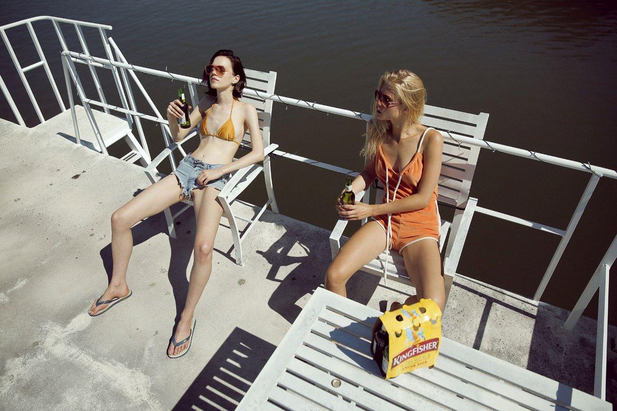 Clara Rosager and Corrie Lejuwaan Nude Photos