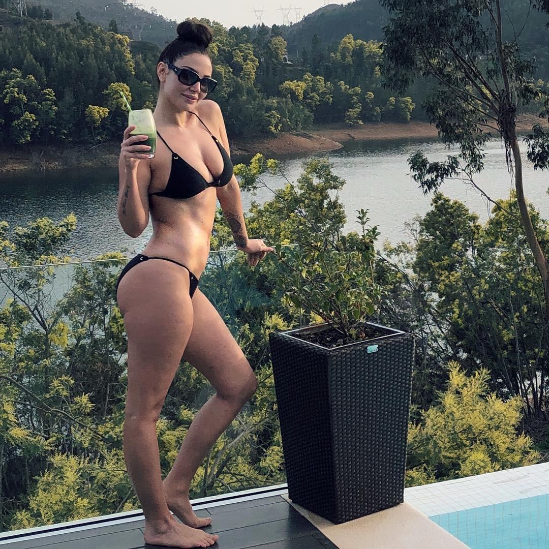 Tulisa Contostavlos Summer Pics, Bikini