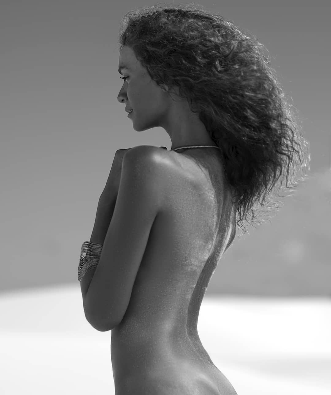 Amanda Chrishell Bikini Pics, Long Legs